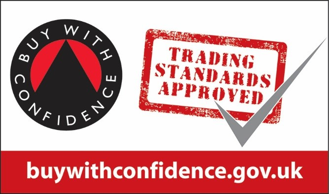 Buy with Confidence accreditation